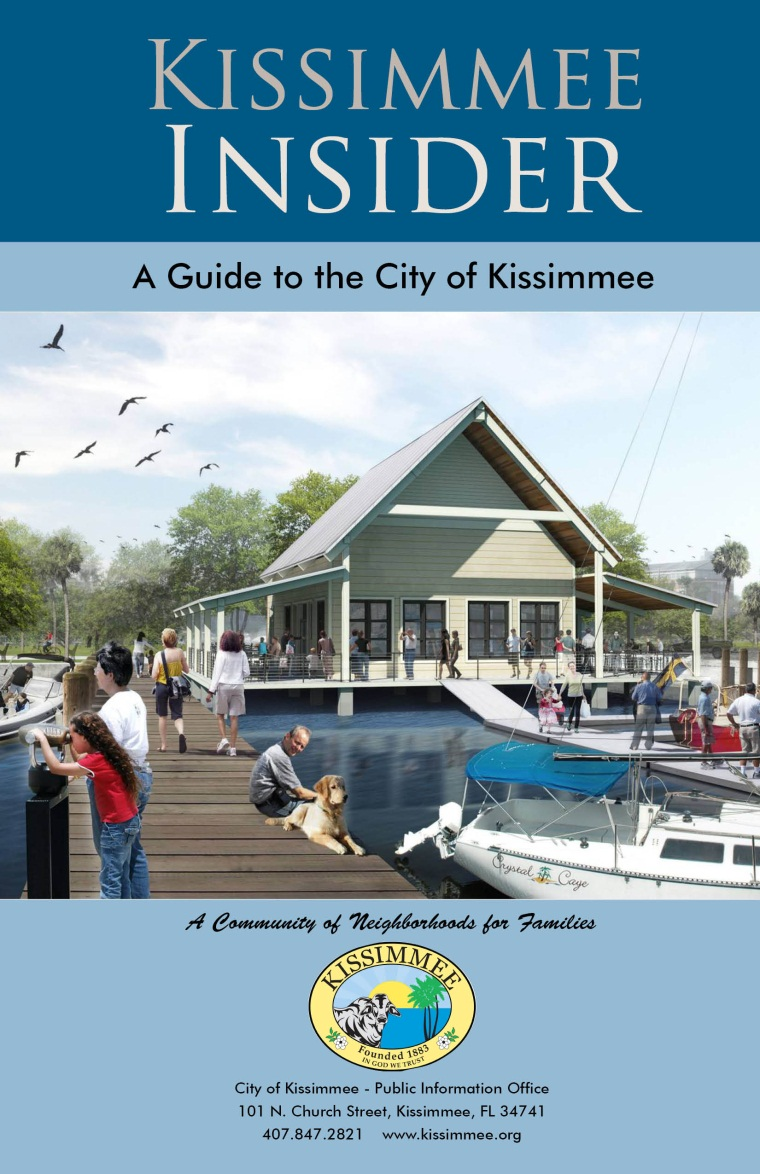 Inside Kissimmee- Front Cover Marina