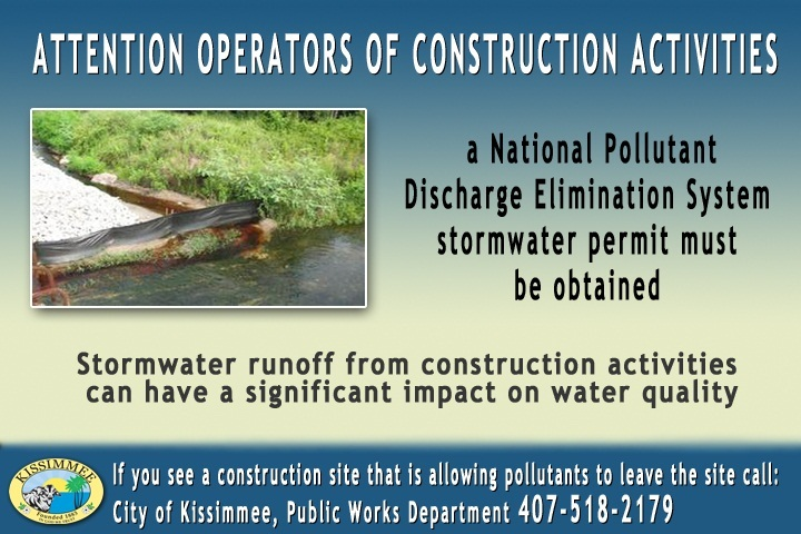 stormwater runoff flyer