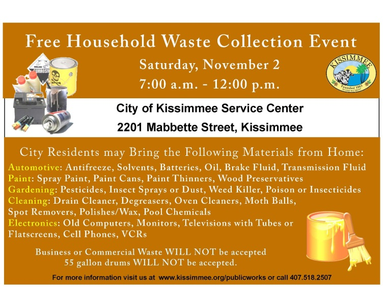 Free Household Waste Collection Event | Event List View