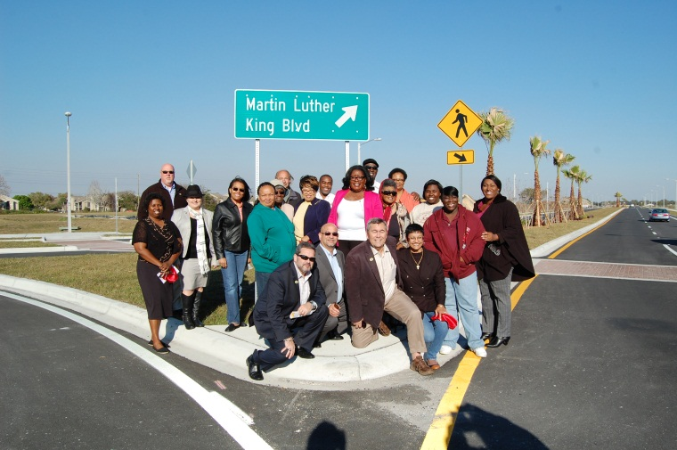 City of Kissimmee Opens Martin Luther King Boulevard Phase III