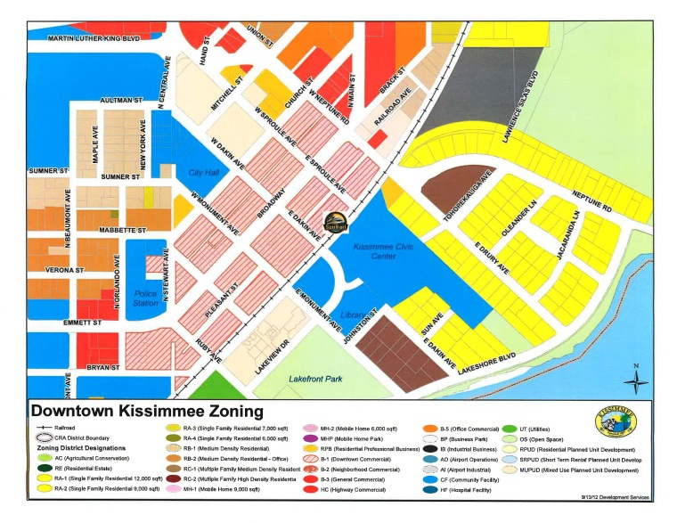 zoning map city of kissimmee fl
