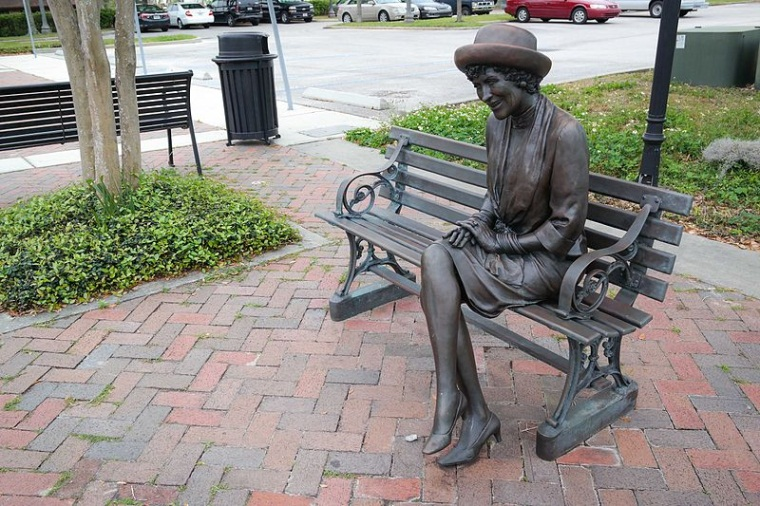New Location of Bette Sprinkle Memorial Statue Chosen by Public
