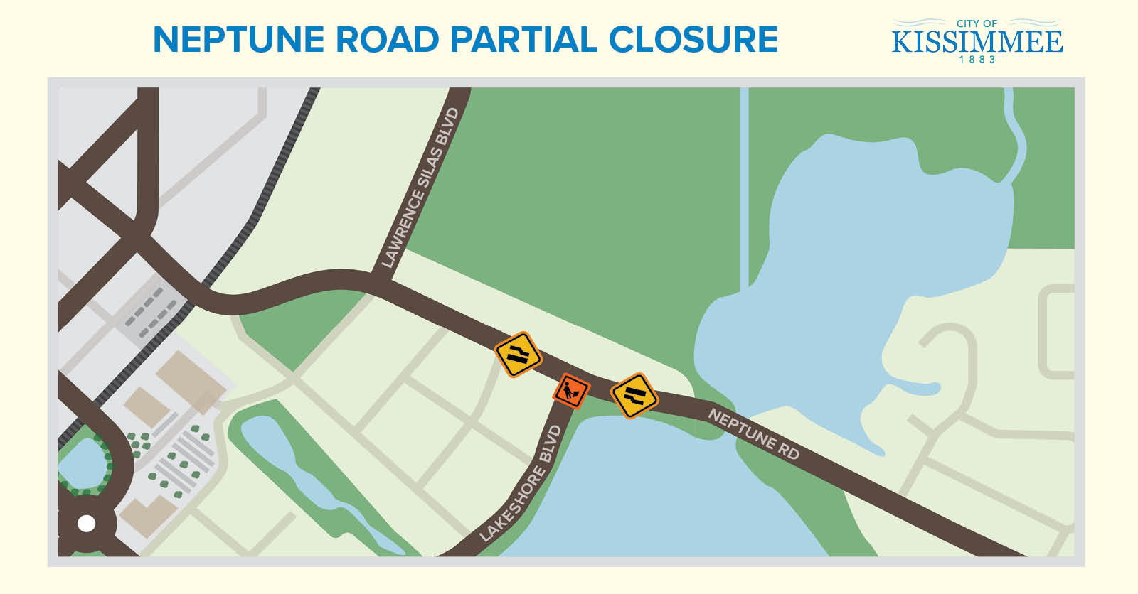 NR 18-017 MAP Partial Lane Closure on Neptune Road Announced