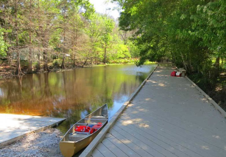 Boat Ramp access shingle creek