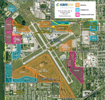 Kissimmee Gateway Airport Map