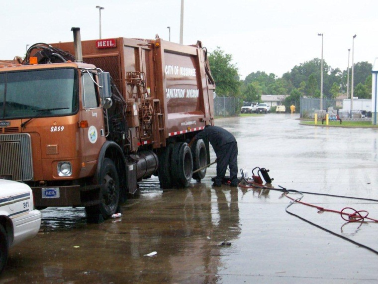 Trash Truck for the City of Kissimmee