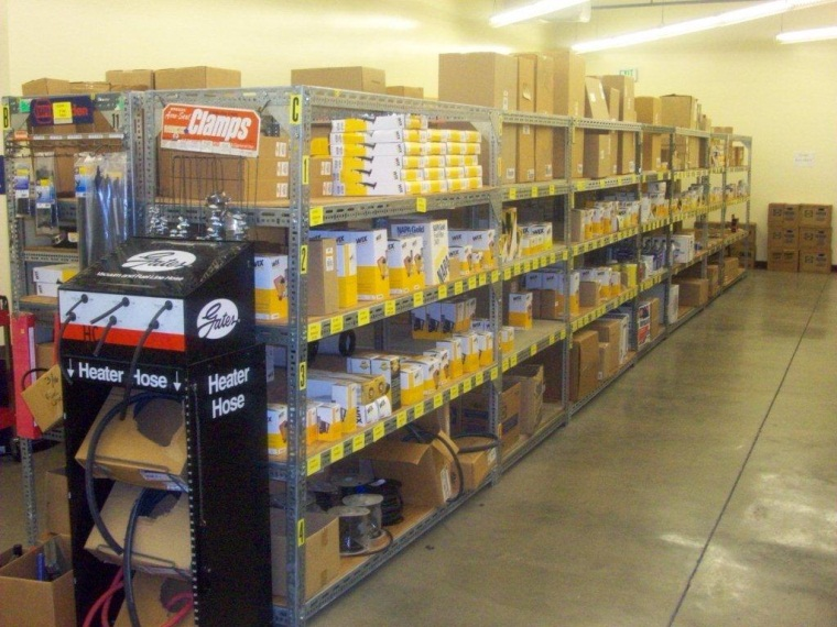 Inventory 1 at Central Services
