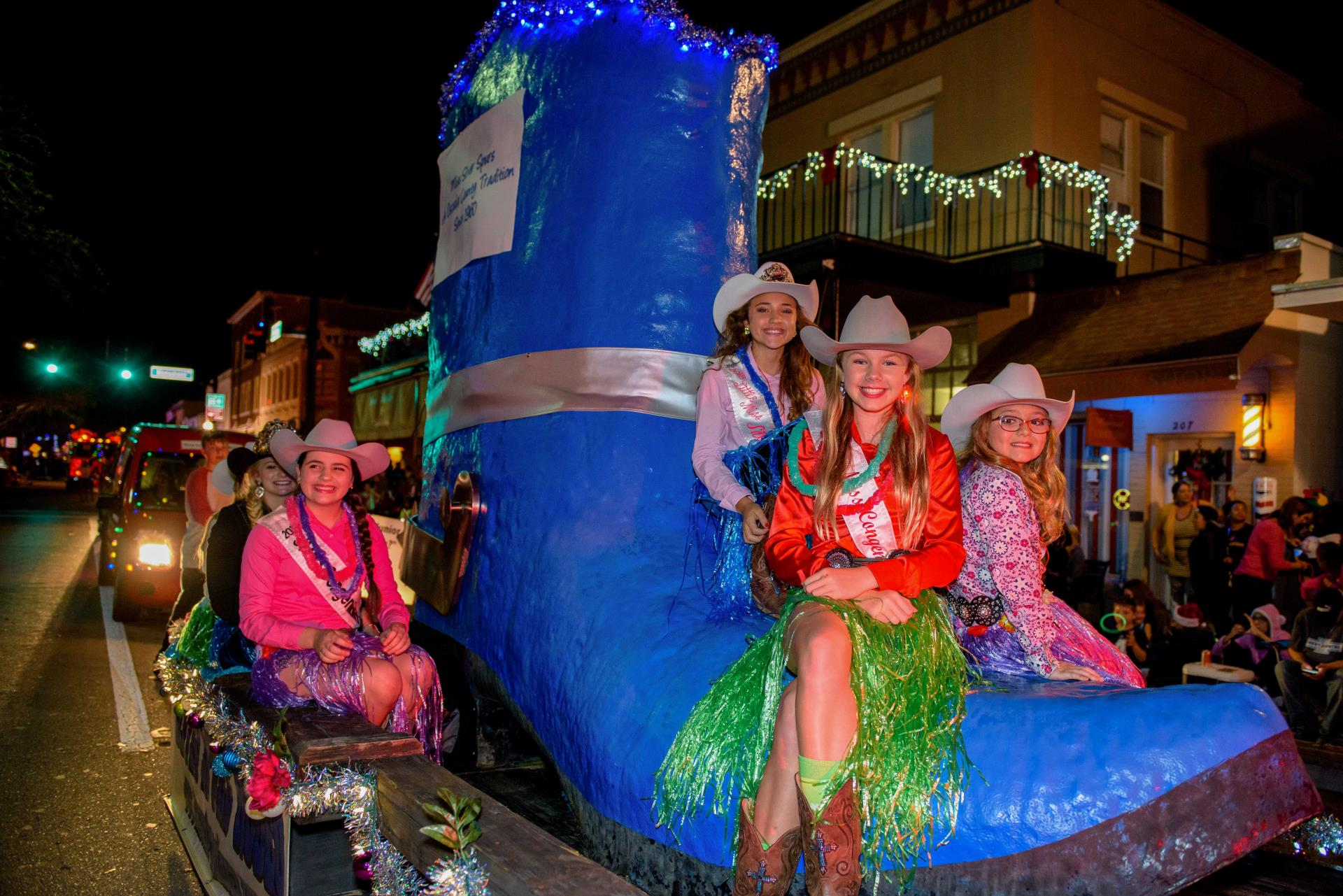 Kissimmee Festival of Lights Parade float