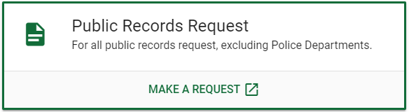 Imagine of button to request records