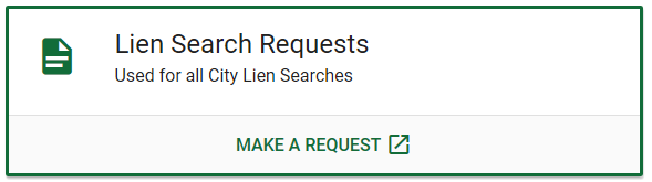 Button to submit a lien search request